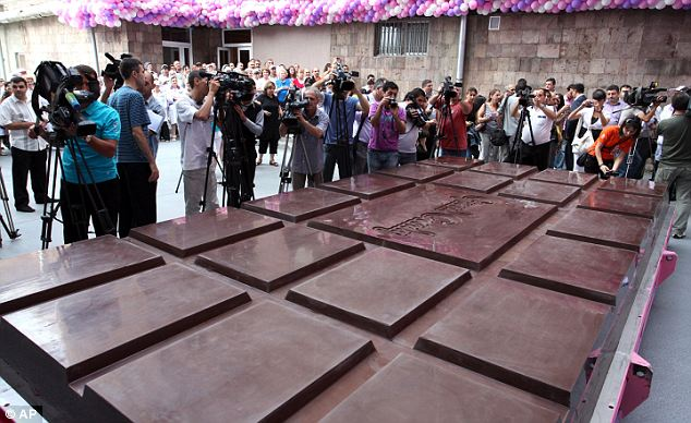 Biggest Chocolate of the World