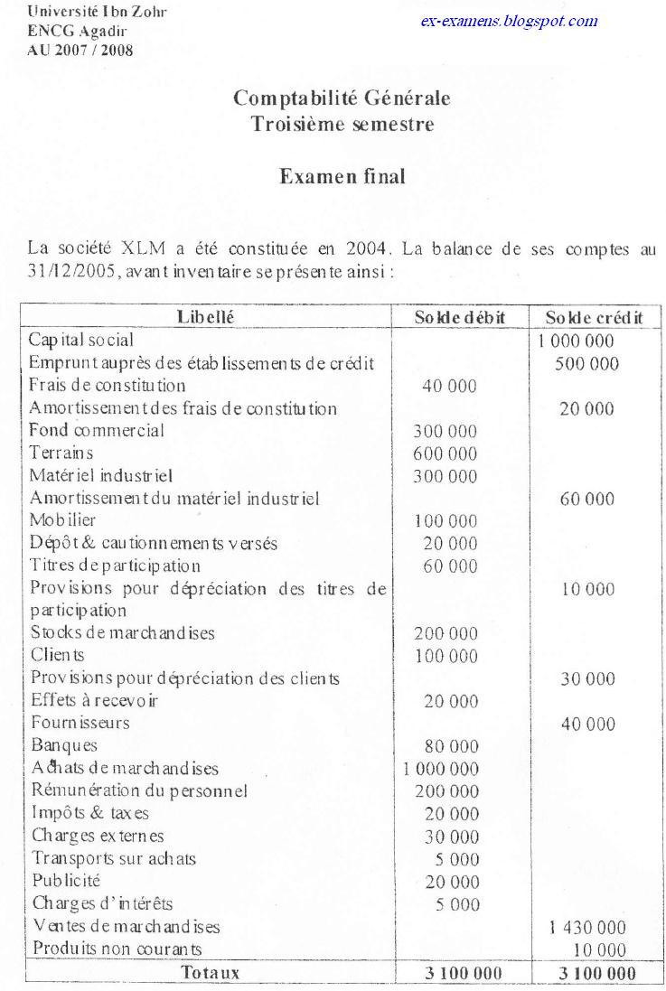 Examen de comptabilité générale S3 ENCG  Comptabilite-generale1