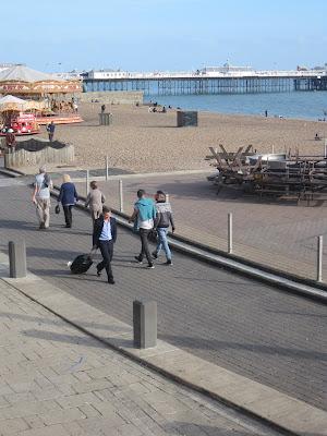 Brighton lungomare Pier