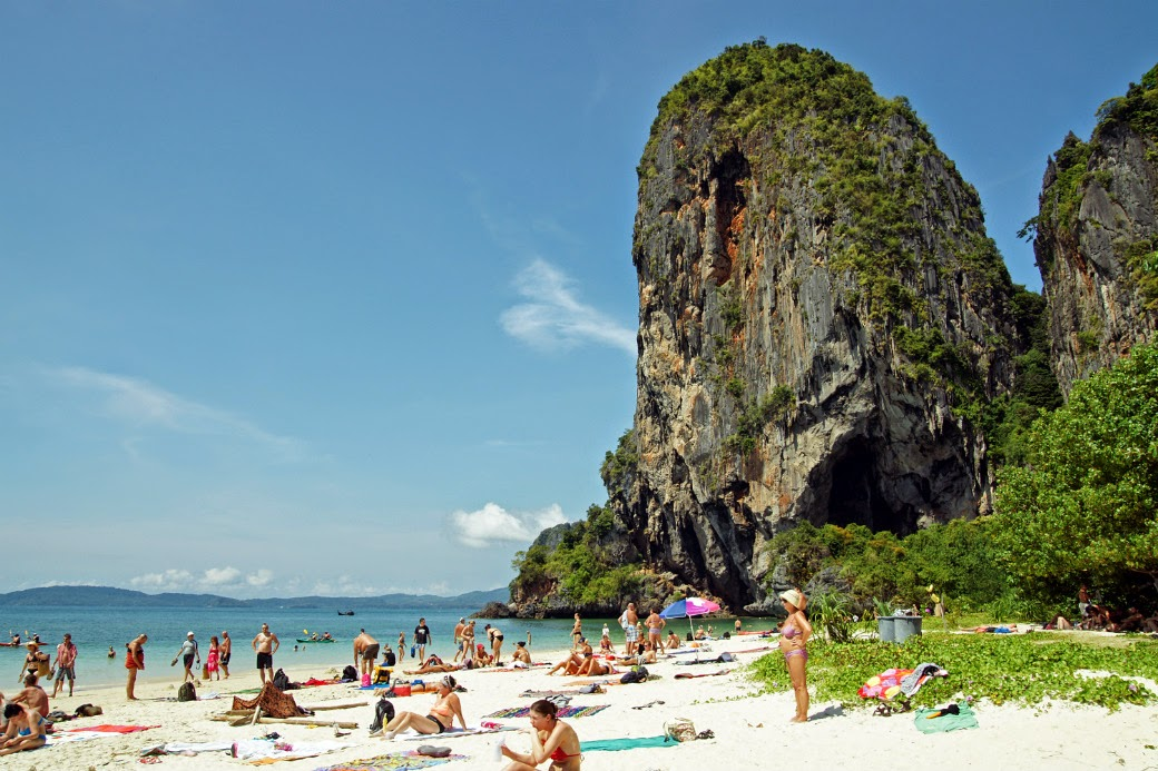 holiday to beach in Thailand