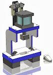 Laboratory Box Frame Presses
