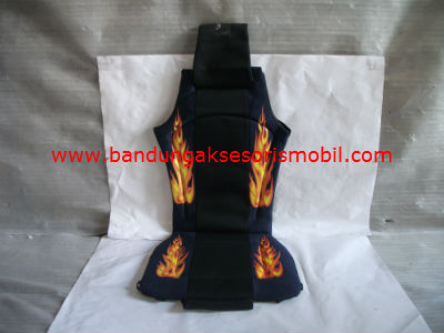 Sandaran Jok Big/Full Fire (Biru/Hitam)