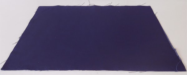 blue fabric,