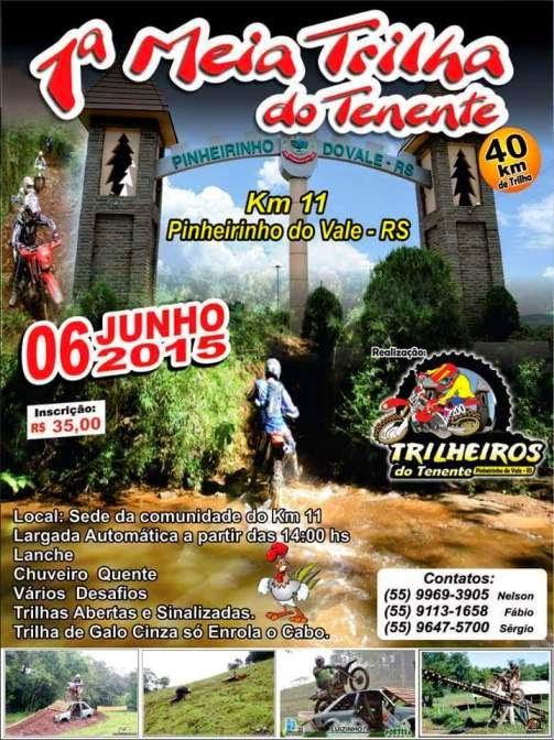 Pinheirinho do Vale-RS, 06 Jun 15