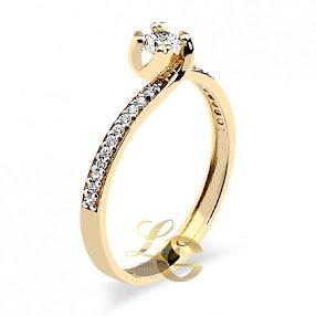 Solitários Ouro 18k e diamantes