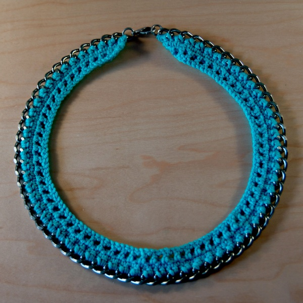 Crochet Tutorial Necklace : ... Chain Mixed Media Bracelet Tutorials Dramatic Chain Jewelry Tutorials