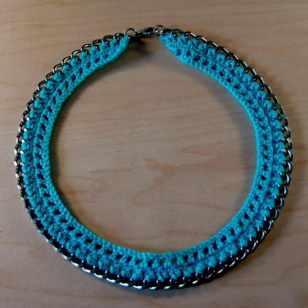 Crochet Tutorial Necklace : ... Chain Mixed Media Bracelet Tutorials Dramatic Chain Jewelry Tutorials