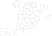 PUZZLE INTERACTIVO DE LAS PROVINCIAS DE ESPAÑA: (provinces of spain blank map )
