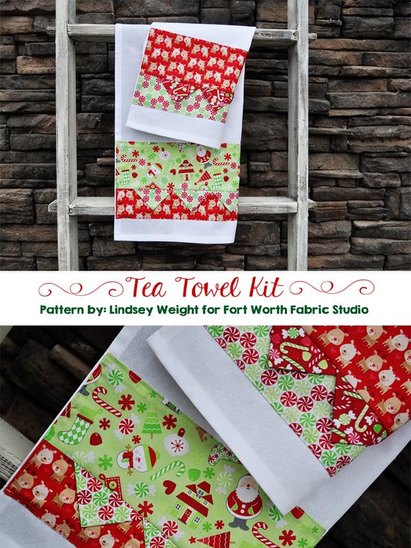 Fort Worth Fabric Studio: Christmas Tea Towels!