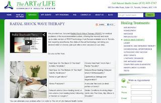 Radial Shockwave Therapy (RSWT) TAOL Health, screenshot