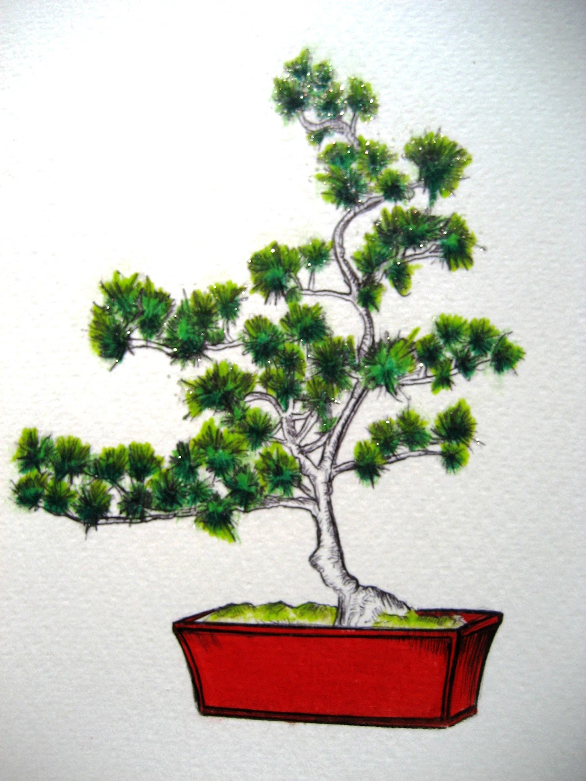 May 19 2011 Bonsai A Drawing A Day For A Year