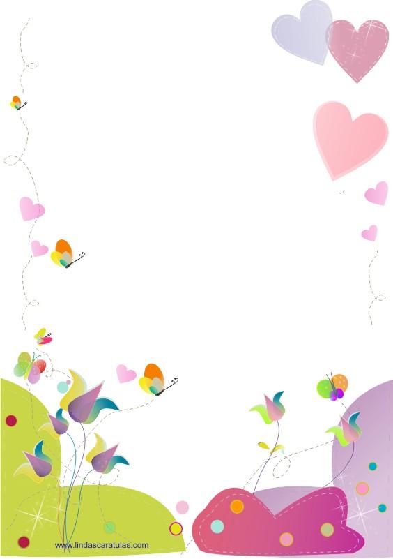 Imagenes de caratulas bonitas - Imagui