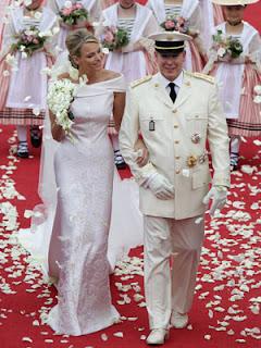 4 Charlene Wittstock & Príncipe Albert de Mônaco