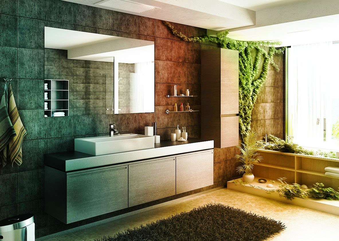 Asian Themed Bathroom Ideas