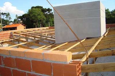 Como fazer um telhado platibanda