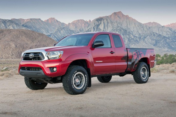 In The Year 2012 This Will Display The Toyota Tacoma Pre Production Of  Toyota Racing Development (TRD) TX (Tacoma Extreme) Taken In A Limited  Edition Of ...