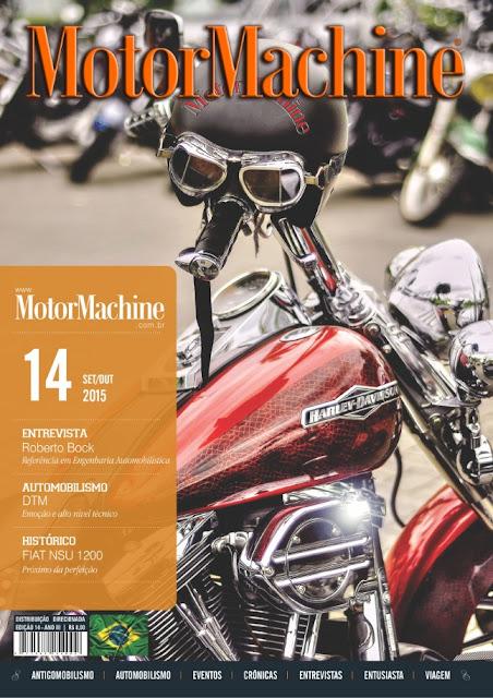 MotorMachine 14: foto de capa: Horacio Zabala
