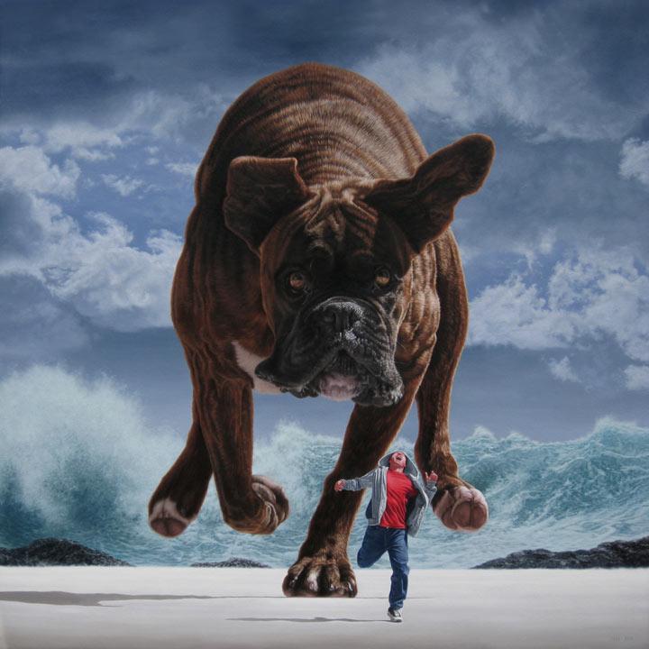 Pinturas Surrealistas al Óleo de Joel Rea