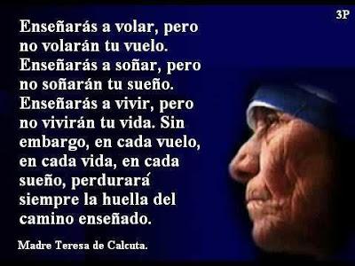 Palabras de Madre Teresa de Calcuta