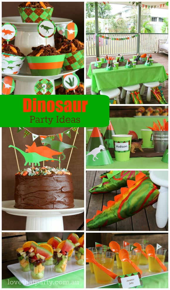 Start Planning a Dinosaur Party!
