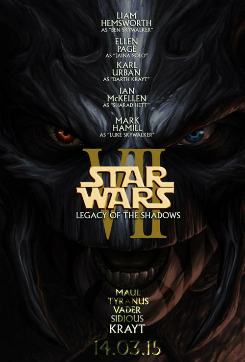 Fan made star wars episode vii poster has a decent cast wish list