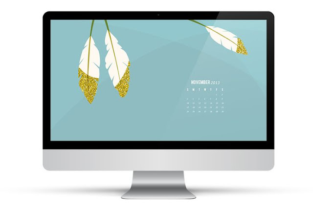 November 2013 Calendar Wallpaper