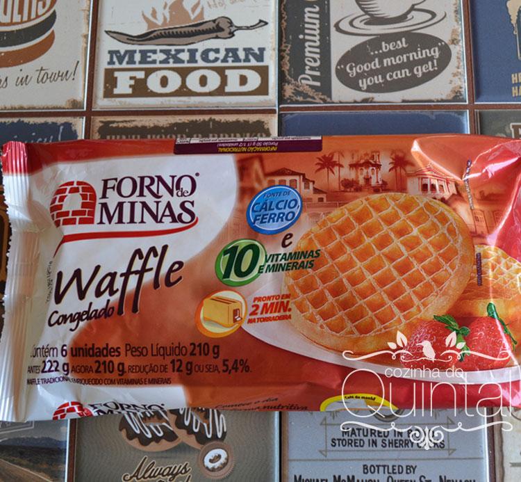 Forno de Minas no Amigas Conectadas na Cozinha do Quintal Waffles