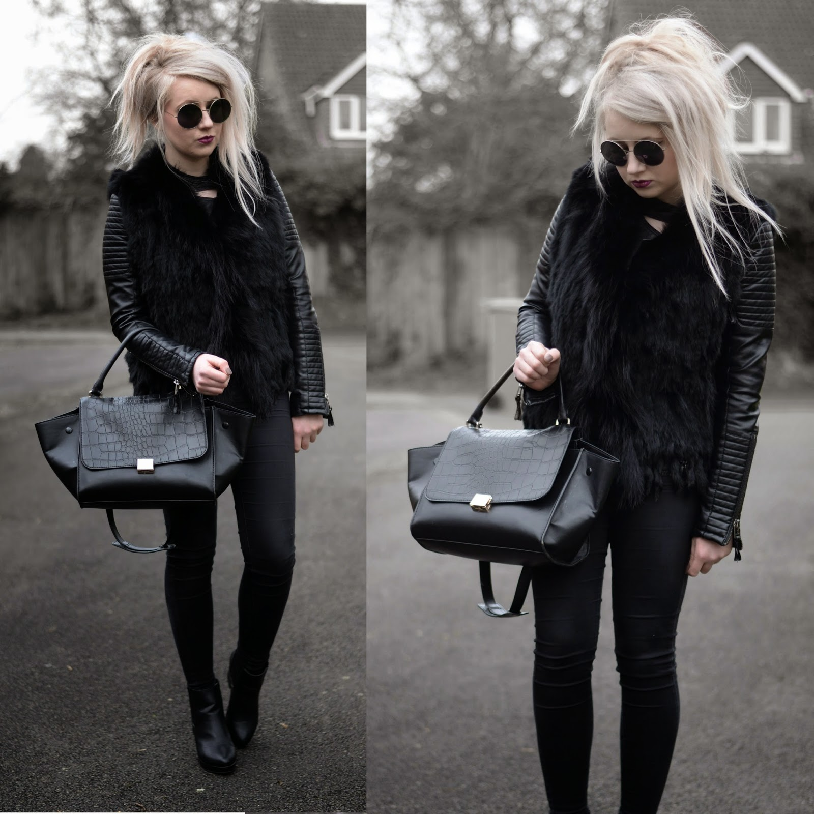 Sammi Jackson - Fur, Leather + Denim