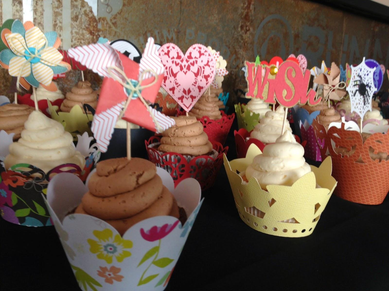 Cricut Explore Cupcake Toppers