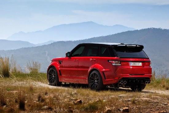 Range Rover CLR RS от Lumma Design 4