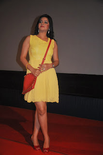 Tamil Actress Preethi Das  Pictures in Short Dress at Press Meet Event  0029