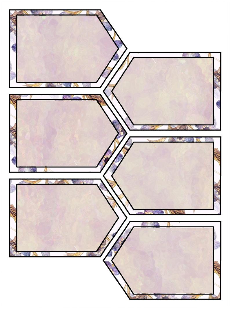 Artbyjean Purple Wood Roses Scrapbook Tags Clip Art Prints For