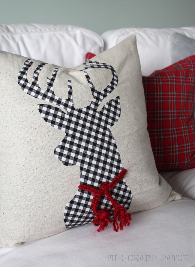 The Craft Patch: DIY Christmas Pillows