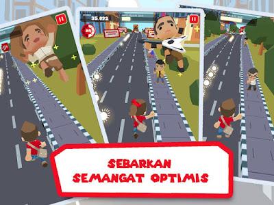Jokowi Go ! - Game Android Blusukan Jokowi yang sedang Populer