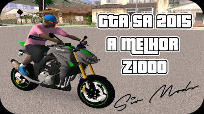 GTA SA - Kawasaki z1000 Edit