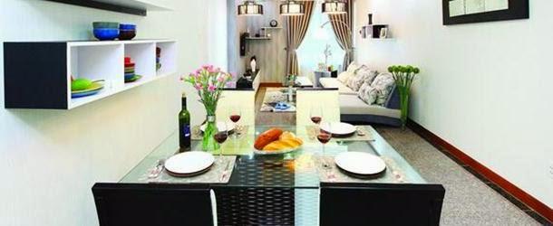 Phòng ăn căn hộ Hoàng Anh Thanh Bình