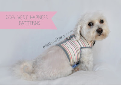Small Dog All In One Harness Opening