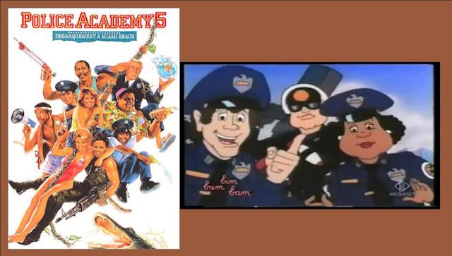 Scuola di polizia film e cartone animato