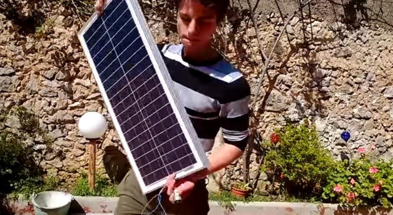 Impianto fotovoltaico fai da te con pochi euro