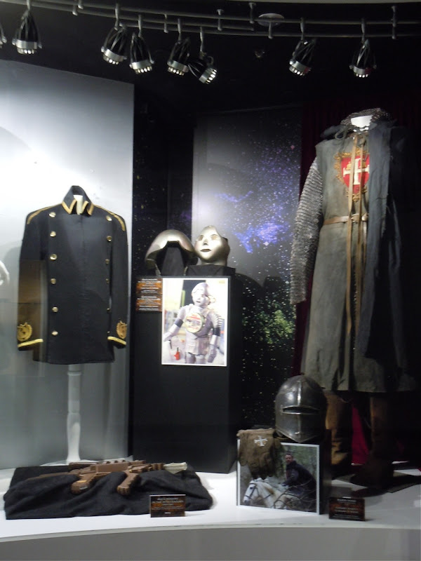 Robin Hood movie costume display