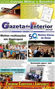 VEJA A EDIÇÃO Nº 47 DO JORNAL GAZETA DO INTERIOR
