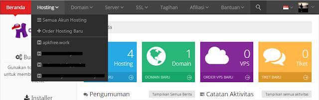 Cara Daftar Domain dan Hosting Gratis