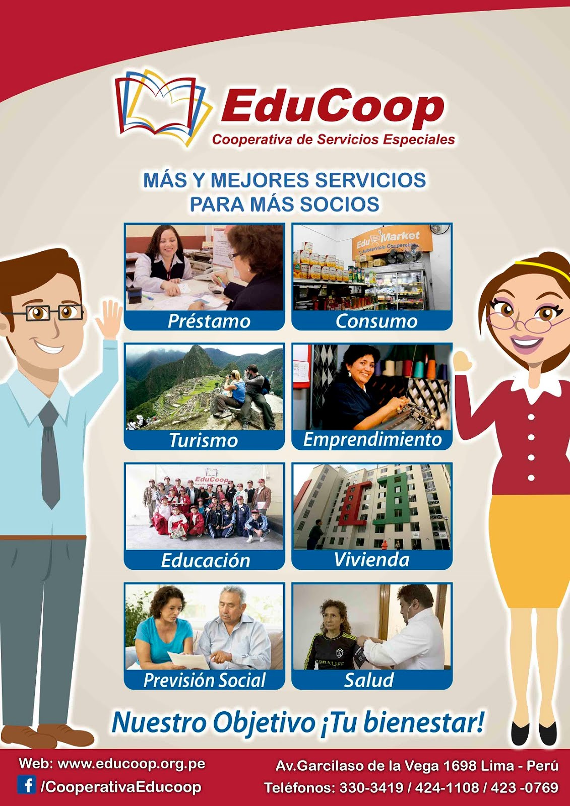 SERVICIOS DE LA COOPERATIVA EDUCOOP