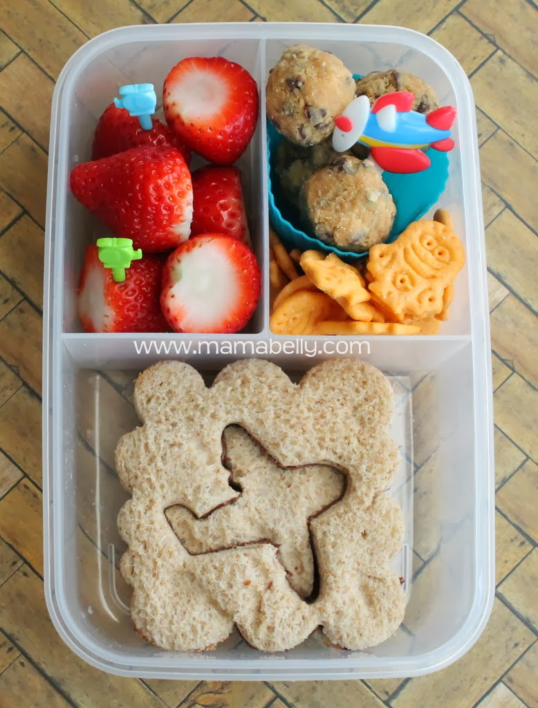 a Plane School Lunch - mamabelly.com