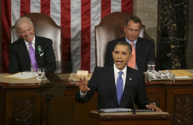 Obama State Of The Union Address Highlights Battle For The Middle Class