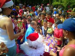 Tutores CBIT entregaron regalos a niñas y niños en Campo Elías y Sucre