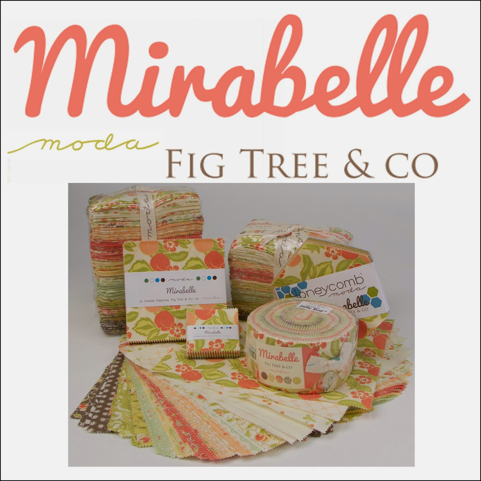 Moda MIRABELLE Quilt Fabric by Joanna Figueroa of Fig Tree Quilts for Moda Fabrics
