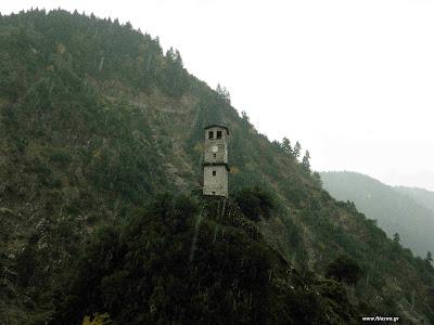 Καρπενήσι, Καστανιά, Μεγάλο χωριό, Μονή Προυσσού