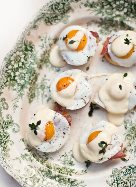 What katie ate birthday recipes for Quail egg canape