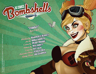 Page 1 from DC Comics Bombshells #13